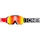 ONeal B-30 Goggle DUPLEX black/red/white-radium